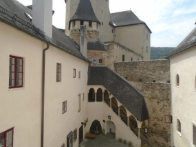 Ritterburg courtyard